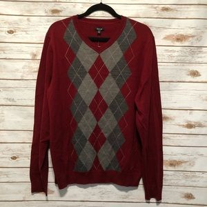 NWT men's argyle sweater
